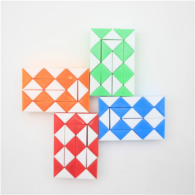 Fun Toys Cube-Stress Puzzles Colour Rainbow Reliever 1pcs Strange-Shape img2