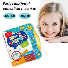 Spanish-English-Reading-Machine E-Book Music Multifunctional Children Kid Christmas-Gift