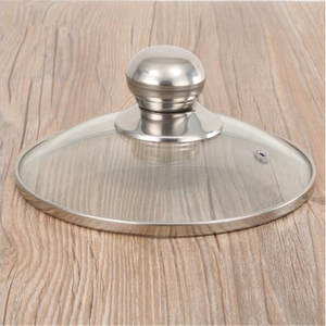 2019 New Stainless Steel Cookware Pot Pan Lid Hand Grip Cover Circular Holding Knob Screw