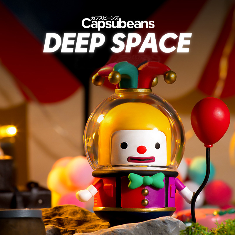 Capsubeans Spaceman Series Blind Box Cute Tide Play Figure Handmade Decoration Gift