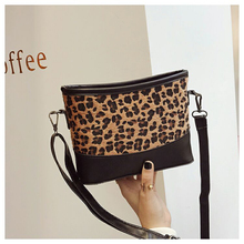 2019 Brand Women Clutch Bags Stylish Handbags Women Bags Leopard Print Square Single Shoulder Crossbody Bag Purses And Handbags stylish women s evening bag with leopard print and plaid design
