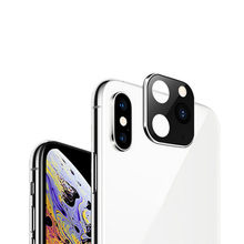 2PCS For iPhone X XS Seconds Change 11 Lens Sticker XS MAX Modified 11 PRO MAX Explosion Modified Case Lens 11 PRO MAX Camera(China)