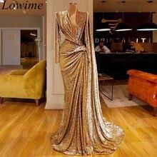 Новое поступление, мусульманские официальные платья знаменитостей, сексуальное вечернее платье с глубоким v-образным вырезом, вечерние платья для особых случаев
