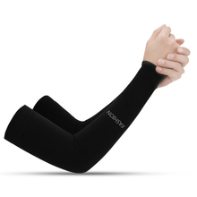 HotSummer Arm Sleeves 1 Pair  Sun UV Protection Cycling Running Fishing Driving CoverSunscreen Cuff Riding Ice Silk