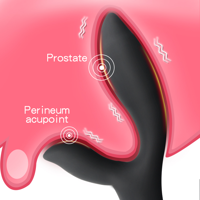 Powerful Prostate Massager Anal Vibrator Silicone <font><b>16</b></font> Speeds Vibrating Butt Plugs Anal <font><b>Sex</b></font> <font><b>Toys</b></font> For Adults Masturbator For Men image