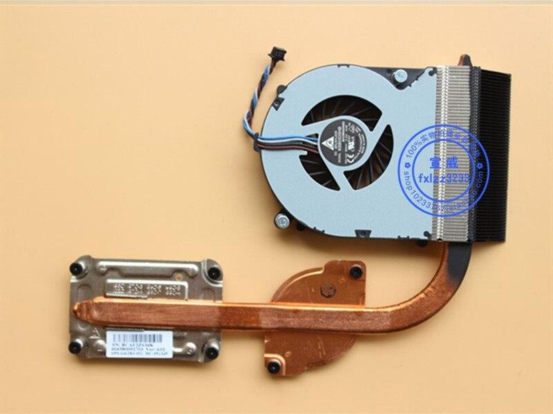 New CPU Cooler Fan/heatsink For HP Probook 4530S 4535s 4730S DFS531205MC0T 646285-001 Radiator