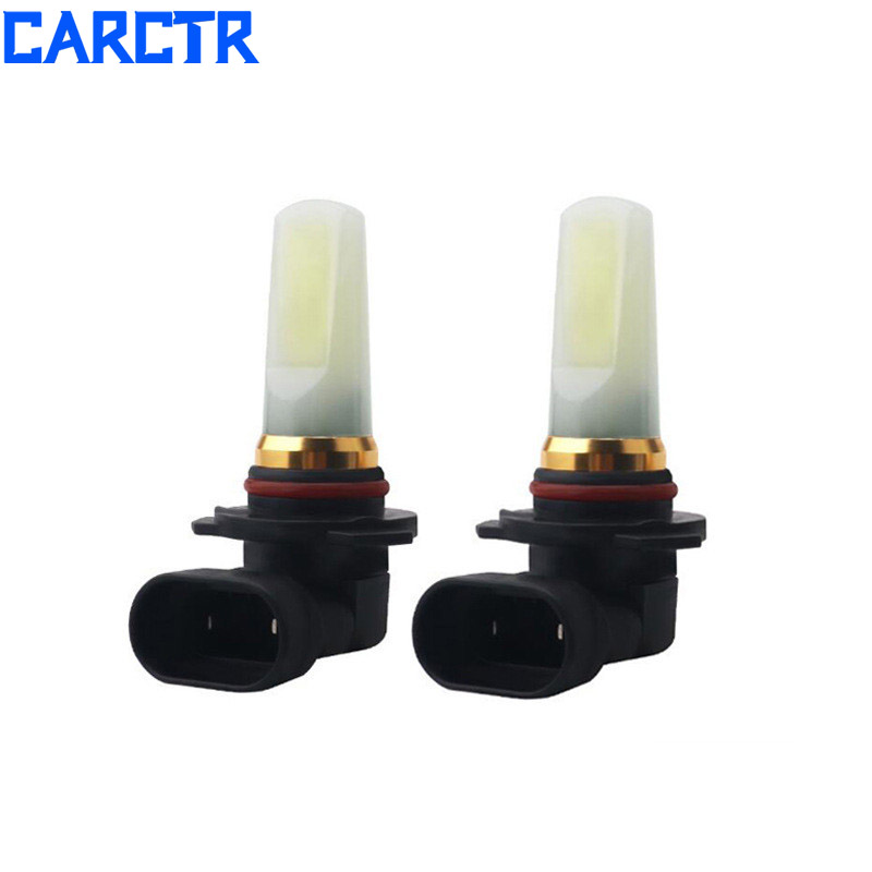 CARCTR Car Led Fog Light Warranty 6500k H4 Bulbs H7 H8 9005 9006 Universal COB High
