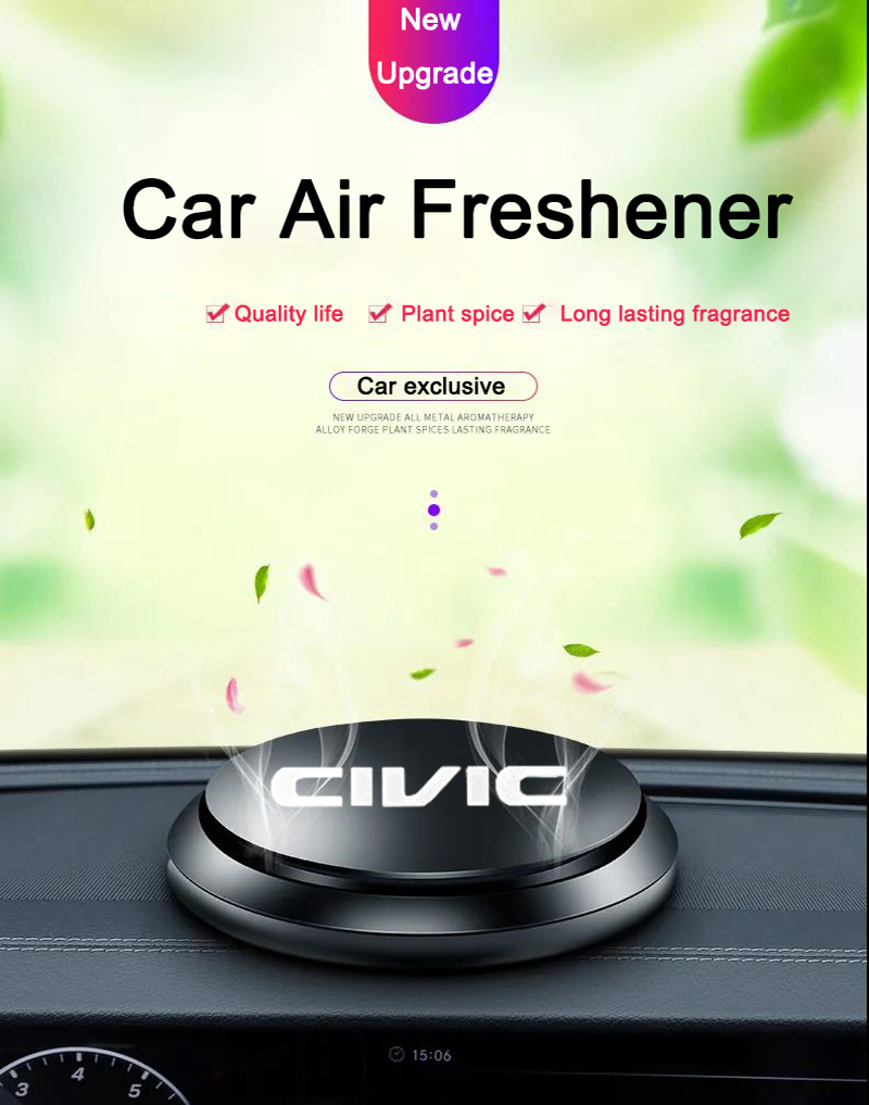 Car Perfume car Aromatherapy Car Air Freshener Flavor UFO Shape Scent Decor for Honda civic 2020 201