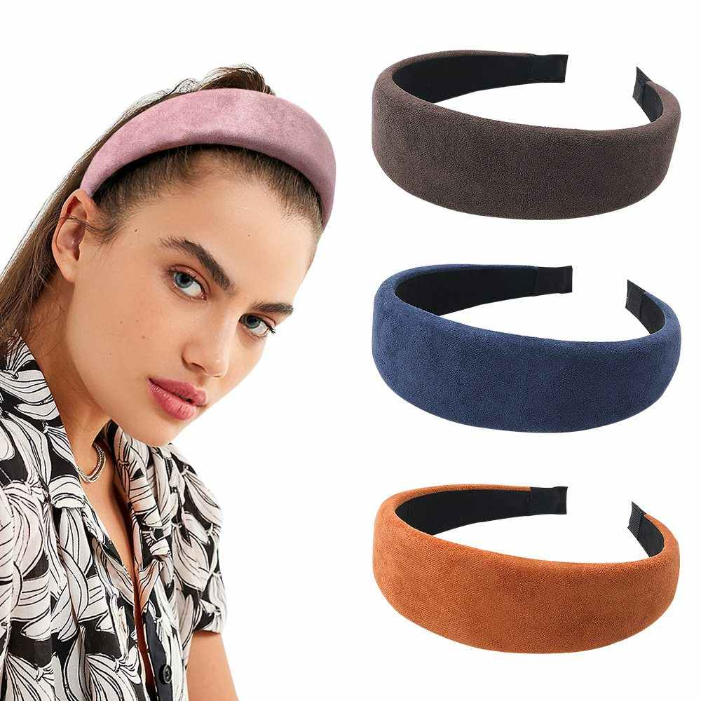 Women Hairband Headband Girl Hair Band Lady Headwear Wide Hair Hoop Accessories