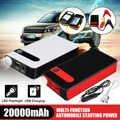 20000mAh çok fonksiyonlu atlama marş 12V araba atlama marş güç banka acil araba pil güçlendirici Buster LED taşınabilir