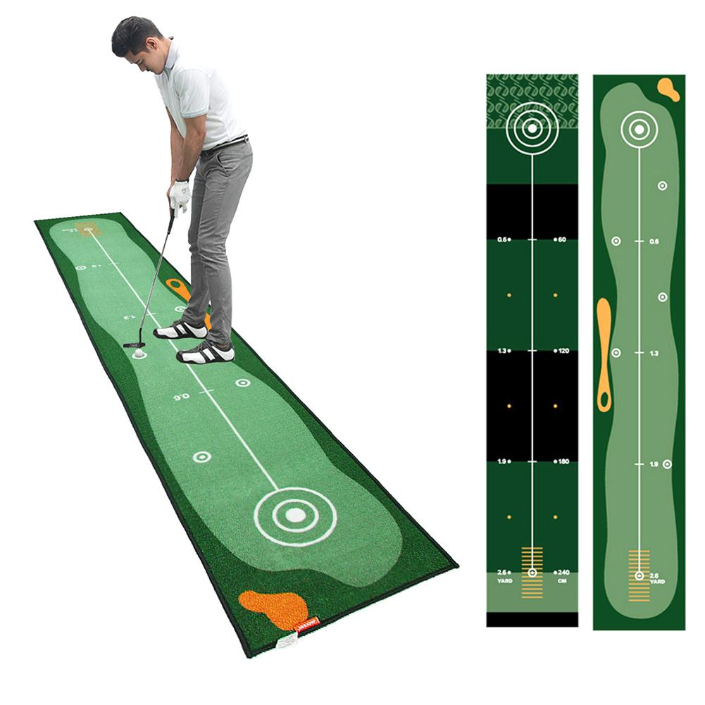 Golf Putting Mat Thick Smooth Practice Putting Carpet Rug For Indoor Home Office