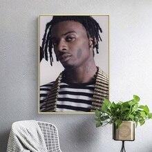 Playboi Carti Hip Hop Rap Music Singer Rapper Star Art Painting Silk Canvas Poster Wall Home Decor