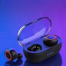 A2 TWS auriculares inalámbricos con Bluetooth estéreo HiFi deporte impermeable auricular Gamer Control de botón auricular inalámbrico para teléfonos inteligentes