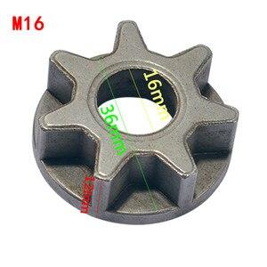Image 4 - M10/M14/M16 チェーンソー 100 115 125 150 180 交換ギアさまざまな角度工具チェーンソーブラケット木工