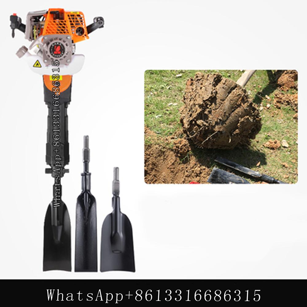 Stroke Tree Machine Tree 4 Lifter Pick Moving Seedling And Ball Gasoline Lifter Digging Root Earth Digger Tree Cuttingtrenching