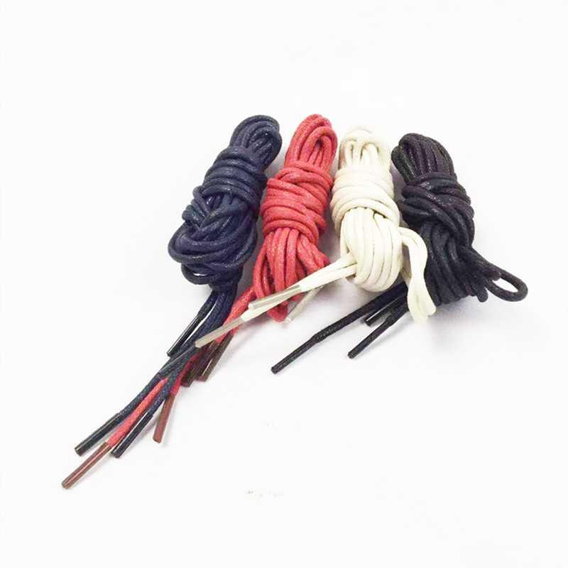 Toptan 1 çift yuvarlak dantel erkekler ve kadınlar çizmeler aksesuarları dantel yuvarlak halat Martin çizmeler dantel