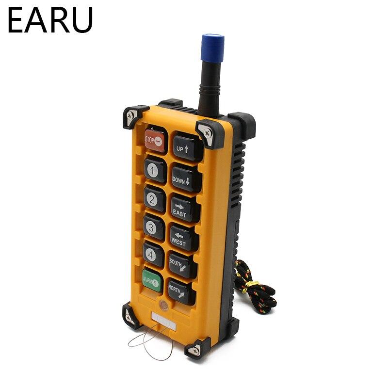 220VAC 12V 24V 36V 380V sans fil grue télécommande F23 A + + S industrielle télécommande grue bouton poussoir commutateur - 4