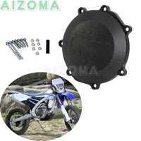 Dirt Bike Motore Frizione Caso Della Copertura Nero Per Yamaha YZ450F WR450F YZ450FX YZF WRF YZ WR 450X2010- 2012 2013 2014 15 2016 17