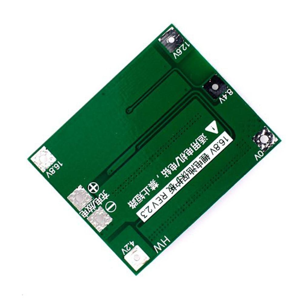 HW-296 16.8V 4S Li-Ion Lithium Battery 18650 Charger PCB BMS Protection Board Lipo Mobile Module With Balancer