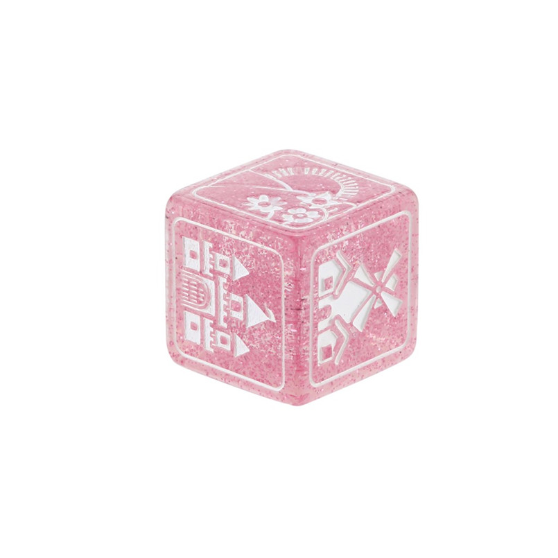 7Pcs party story poly dice time dice polyhedron multi-faceted acrylic dice set dnd new dados poliedricos  dadi da gioco 30A20 (10)