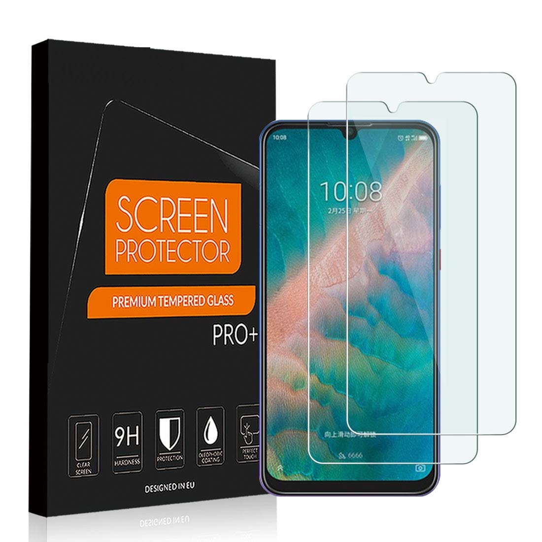 Tempered Glass For ZTE Blade 10 A7 Prime Glass Screen Protector 2.5D 9H Premium Glass For ZTE BLADE A5 A7 2020 Protective