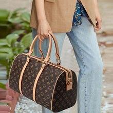 Women's large - capacity tote bag fashion short - distance sports bag gym bag travel bag travel bag organizer designer suitcase