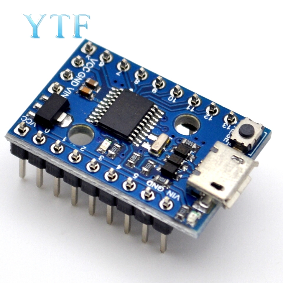 Digispark Pro Kickstarter Development Board Use Micro ATTINY167 Module