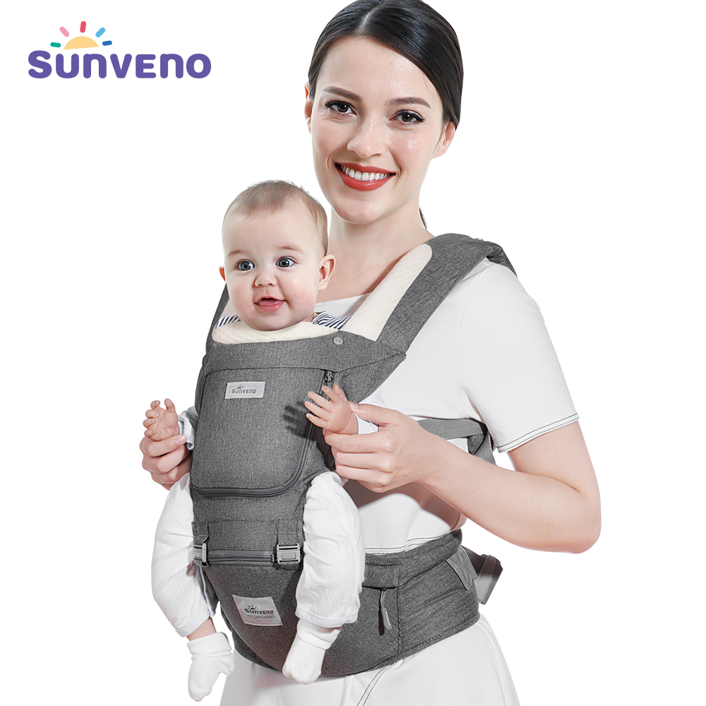 sunveno-baby-carrier-ergonomic-infant-hip-seat-carrier-kangaroo-sling-front-facing-backpack-carrier-baby-travel-activity-gear
