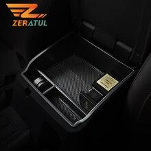 Zeratul ABS Armrest Box Storage Central Storage Box Armrest Accessories for Toyota Fortuner Hilux An120 An130 An160 2016   2020