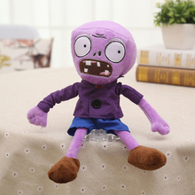 купить New Arrival Plants vs Zombies Plush Toys 30cm PVZ Zombies Soft Stuffed Toy Doll Game Figure Statue for Children Gifts Party Toys по цене 287.23 рублей