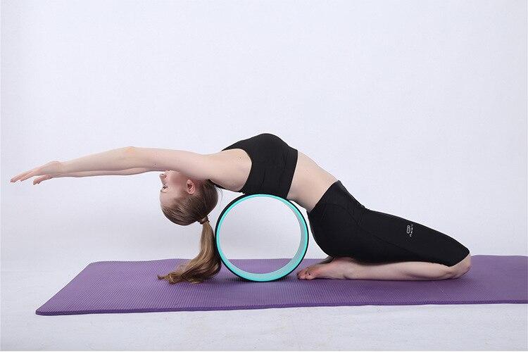 yoga círculos tpe forma da cintura musculação