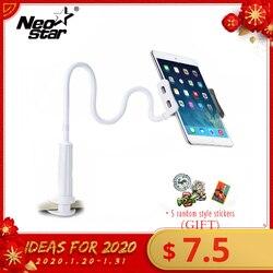 Flexible Tablet Ständer Halter Für iPad Mini Air Kindle Samsung Telefon Für Iphone 3,5-10,5 zoll Faul Bett Tablet PC Steht Faltbare