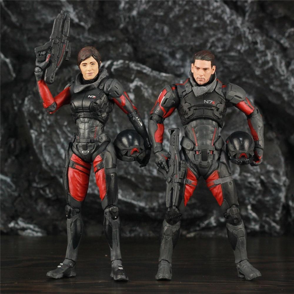 Mass Effect Andromeda Sara Ryder Figura De Acción