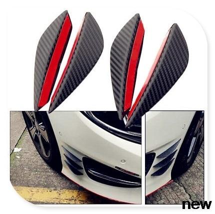 Car Spoiler Canards Front Bumper fin for volkswagen hyundai veloster kia niro mazda 3 2014 alfa romeo mazda cx5 2018