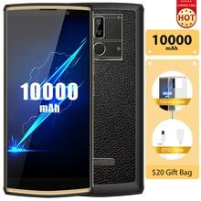 OUKITEL K7 Pro 10000mAh 4G Смартфон Android 9,0 4G ram 64G rom MT6763 Octa Core 6,0 «FHD + 18:9 отпечаток пальца 9 V/2A мобильный телефон