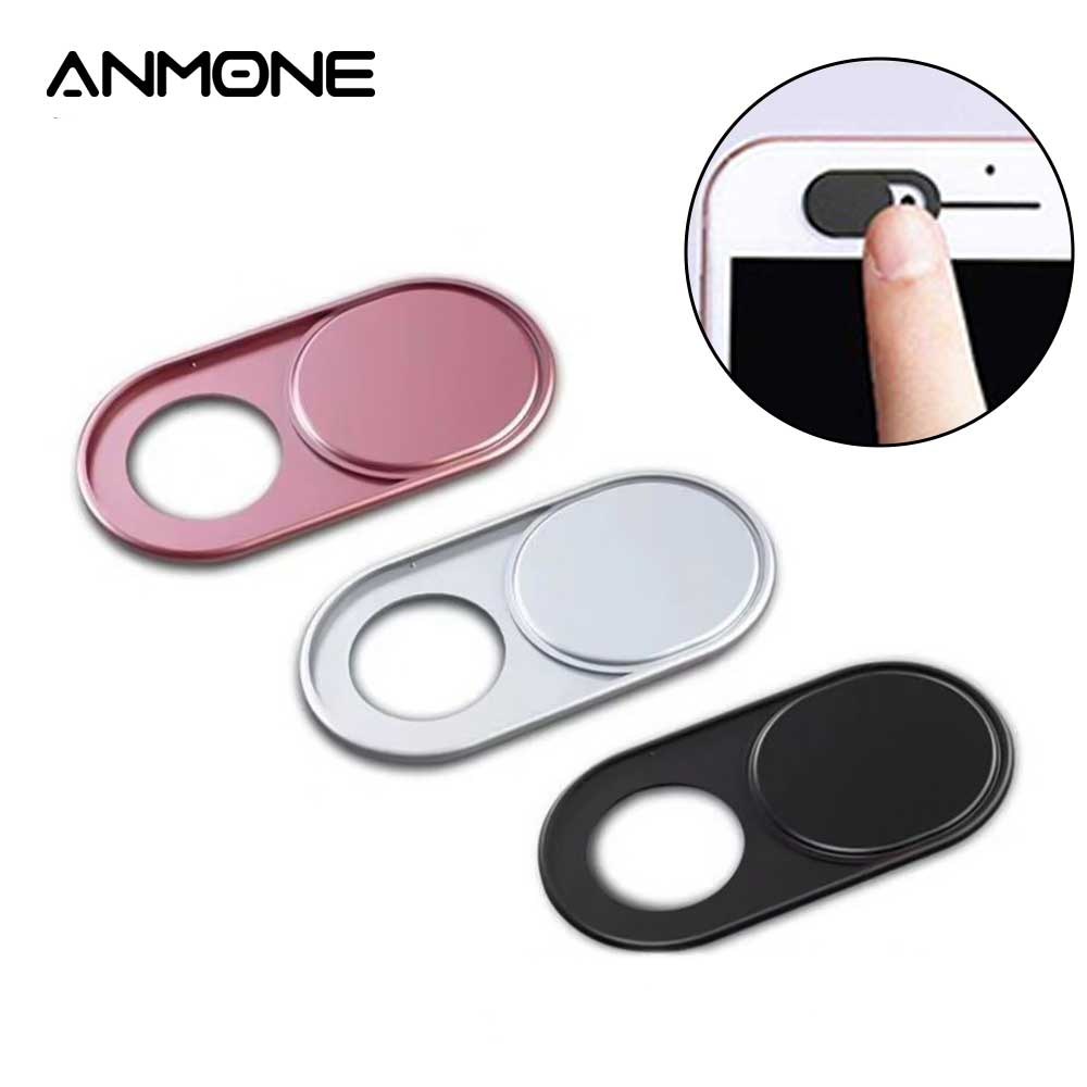 ANMONE Webcam Cover Slider Laptop Camera Cover Shutter Mobile Phone Front Camera Cover Privacy Protection Sticker For Notebook
