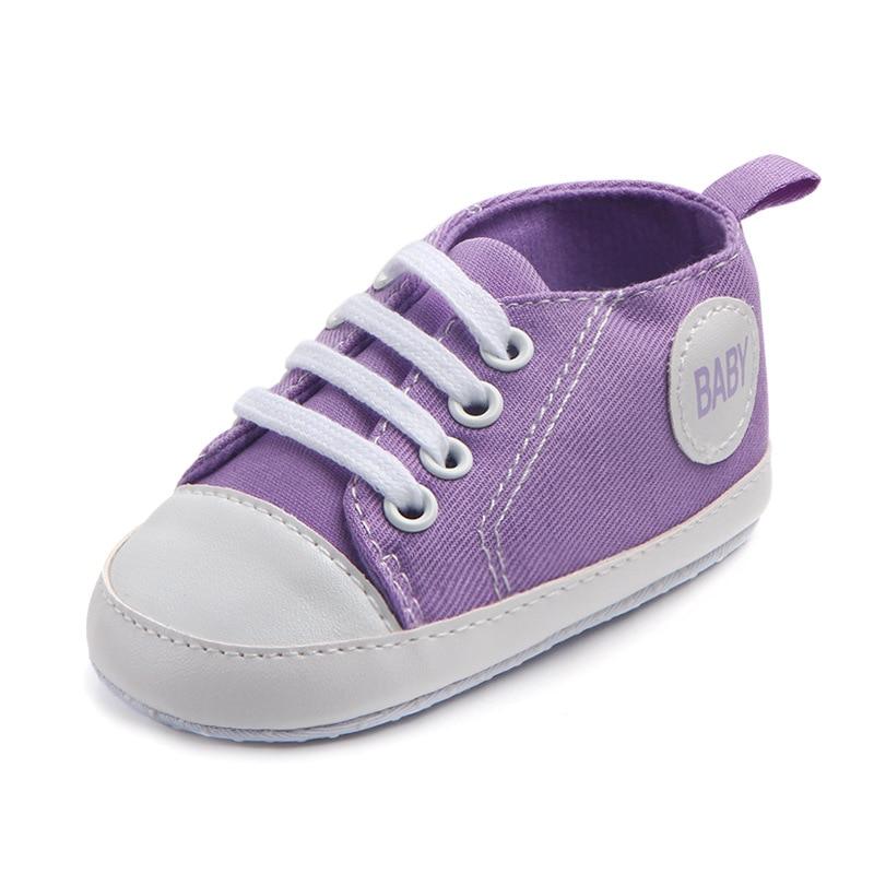 Chaussures bébé Garçon Fille Solide Sneaker Coton Doux Semelle Antidérapante Nouveau-Né Infantile Premiers Marcheurs Bambin décontracté Sport Chaussures de Berceau 41