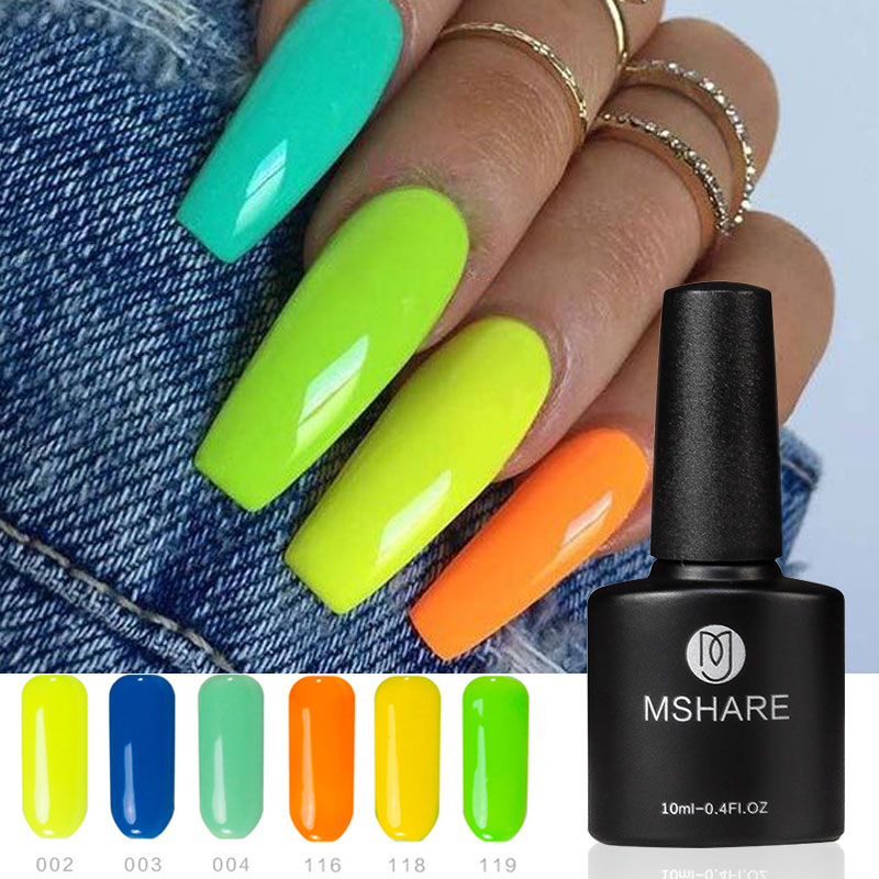 bright-summer-neon-colors-nail-gel