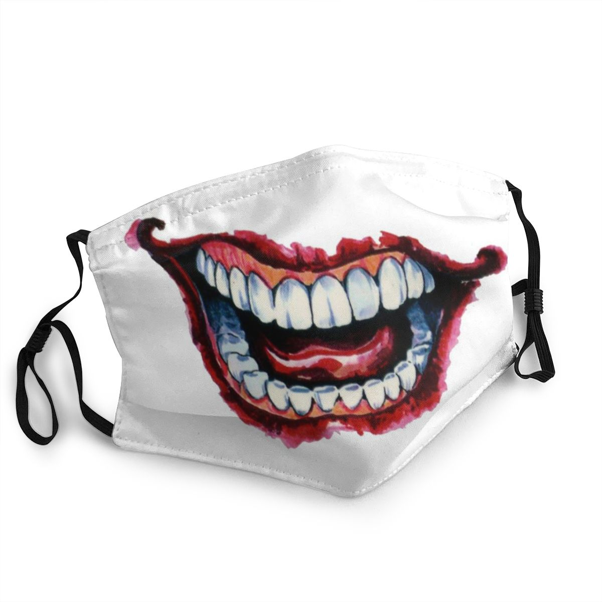 2020 3d Print Lego Joker Face Pm2.5 Filter Mouth Masks Joker Teeth Muffle Chanyeol Face Anti Custom Mouth Mask