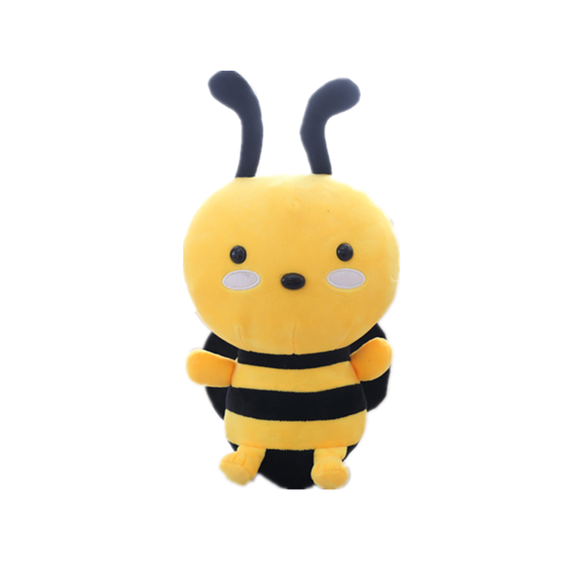 20-45CM Cute Little Bee Doll Stuffed Soft Insect Doll Plush Toy Gifts Classic toys for children birthday Christmas gift