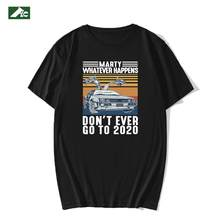 FLC – T-Shirt Vintage en coton pour homme, humoristique, noir, 2020, XS-3XL