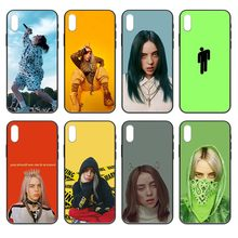 bad guys Billie eilish luxury shell black Phone case cover hull For iphone 4 4s 5 5S SE 5C 6 6S 7 8 plus X XS XR 11 PRO MAX 2020(China)