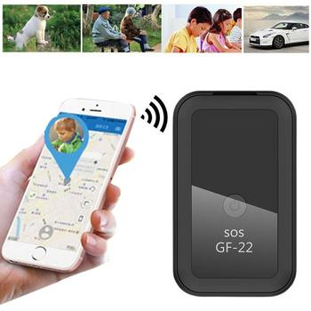 GF22 Control de voz en tiempo Real rastreador GPS de coche dispositivo...