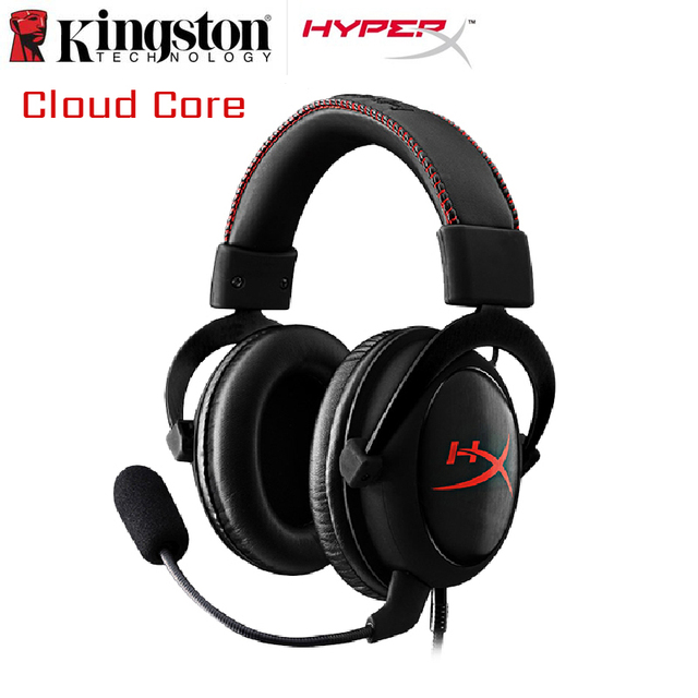 Gaming Headphones HyperX Cloud Core/7.1 Computer Headset With a Microphone For PC PS4 Xbox One Mobile Device Hyper X Earphone