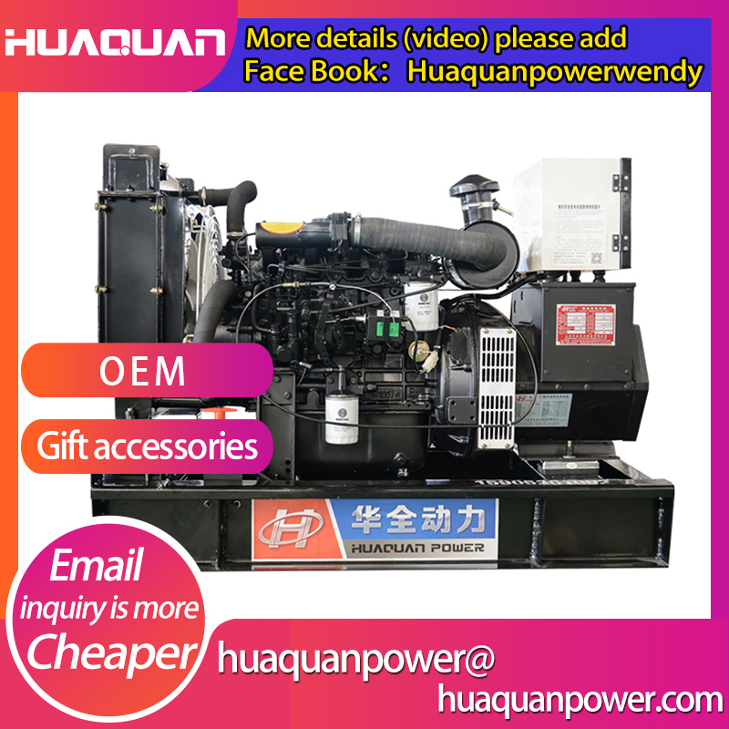 china quality 20 kva electric start diesel generator 220 volt price