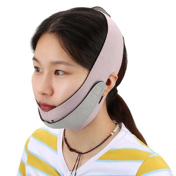 efero firming v face mask double v face hanging ear face paste hydrogel mask lifting firming thin masseter band double chin mask Super-elastic Face Bandage Neck Wrinkle Removal V Face Slimming Mask Double Chin Lifting Firming Sleep Band Thin Facial  band
