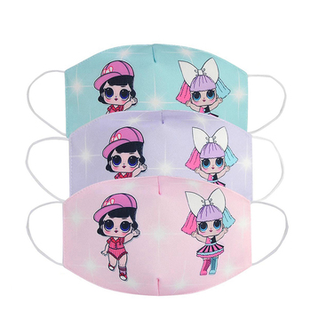 LOL Surprise Dolls Cartoon Cotton Face occlusion Anti Dust Reusable Breathable Face Mouth Protection LOL Dolls Gifts for Girls 1