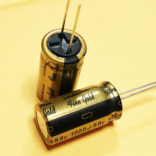 2PCS NICHICON FG 50V1000UF 16x31.5MM fine gold 1000UF 50V FineGold 1000uF 50V MUSE Audio Capacitor 1000uF/50V