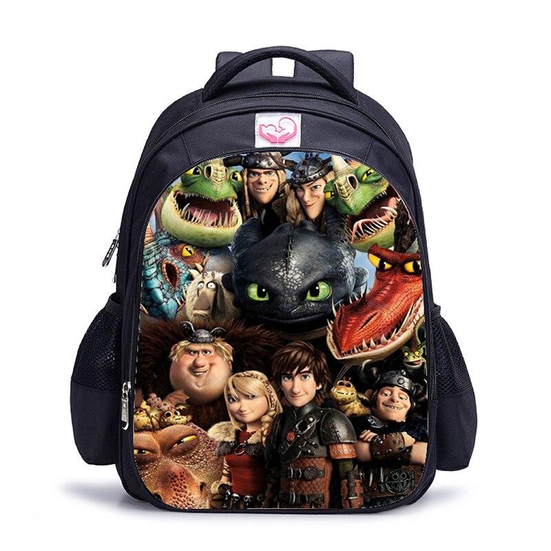 16 дюймов Аниме Дракон Детский рюкзак детские школьные ранцы для мальчиков и девочек ортопедический Детский рюкзак Mochila|Рюкзаки| | АлиЭкспресс