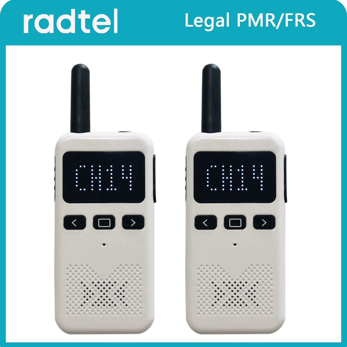 Radtel KD-C70 Walkie Talkie Pmr 446 FRS Two Way Radio Mini USB Type C Phone Walkie-Talkies 1 or 2 pcs Portable radio PTT Hotel